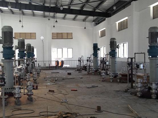 为广东惠州化工厂设计制造的9台20m3磁力反应釜
