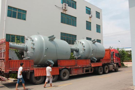 8台15000L的磁力密封反应釜