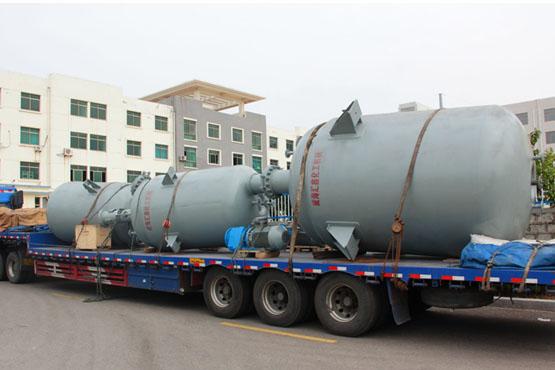 四川某化工厂5000L与12000L纯不锈钢反应釜