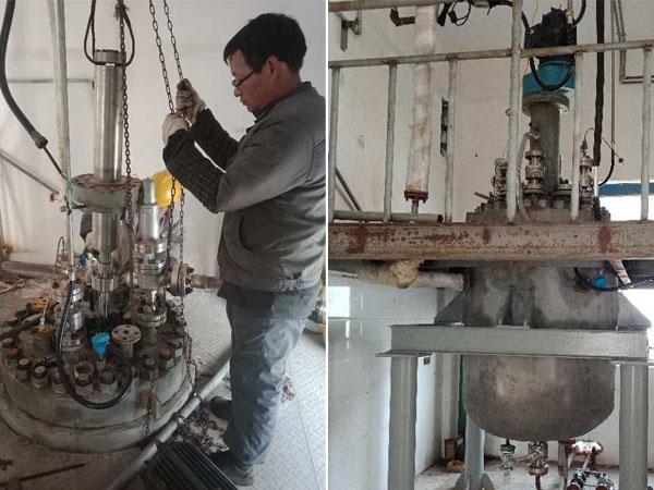 上海化工500L磁力搅拌反应釜
